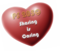 At PS 205Q Sharing is Caring