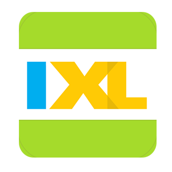 image of ixl logo and link to ixl website