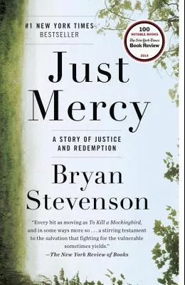 image of the book Just Mercy linked to book club flyer