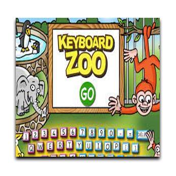 image of keyboard zoo logo with monkey elephant and keyboard links to keyboard zoo
