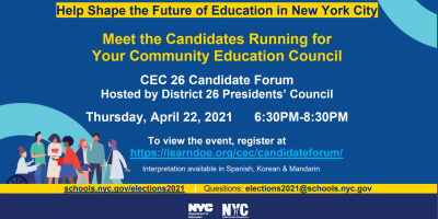 CEC Candidate Forum