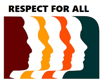 Respect for all image