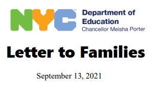 link to family letter sept 13 2021