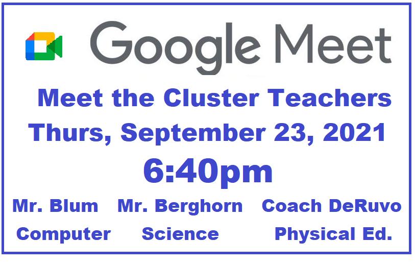 link to google meet the teachers